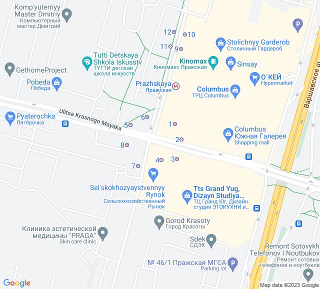 Вывоз мусора метро Пражская