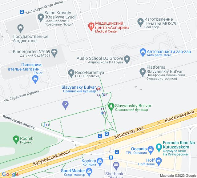 Вывоз мусора метро Славянский бульвар