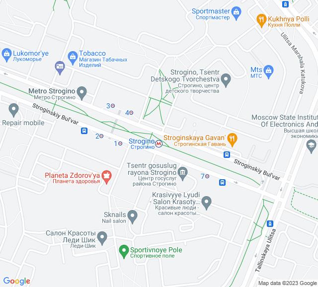Вывоз мусора метро Строгино