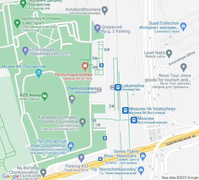 Вывоз мусора метро Черкизовская