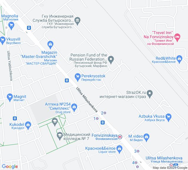 Вывоз мусора Милашенкова улица