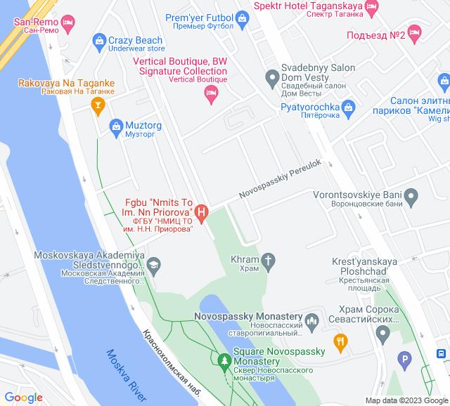 Вывоз мусора Новоспасский переулок