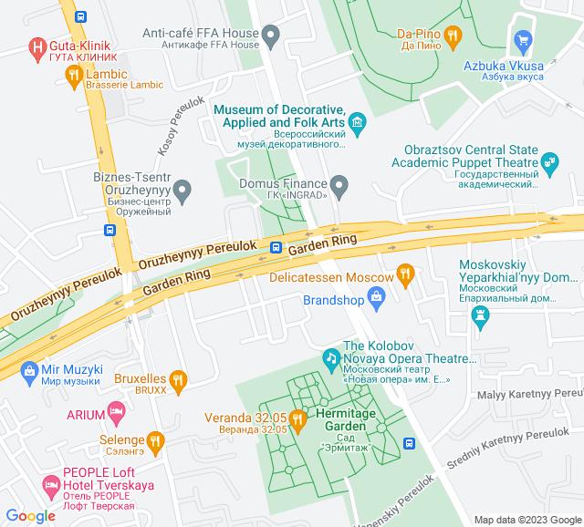 Вывоз мусора Садовая - Каретная улица