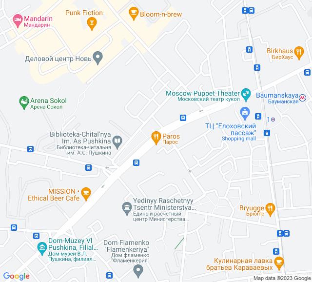 Вывоз мусора Спартаковская улица