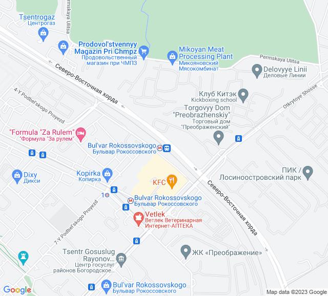 Вывоз мусора МЦК Бульвар Рокоссовского