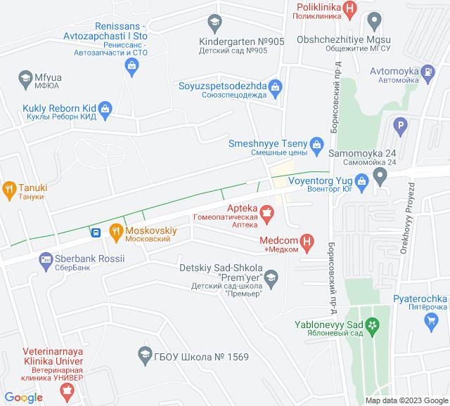 Вывоз мусора Шипиловская улица