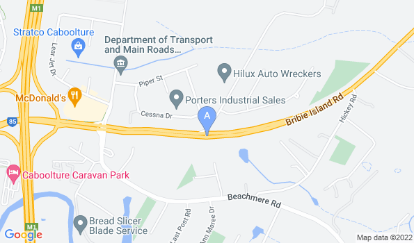 Street map of Allpets Caboolture Animal Hospital