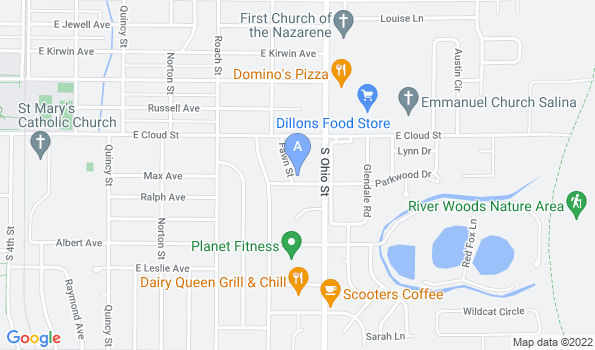 Street map of [Hospital Name]