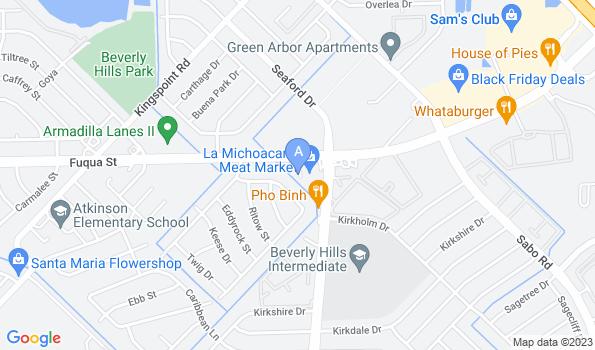 Street map of Kirkwood Veterinary Hospital