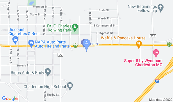 Street map of Animal Health Center, Inc