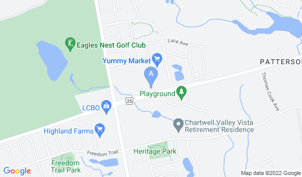Street map of Eagles Landing Animal Hospital