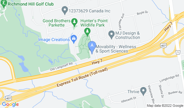 Street map of Bayview Seven Animal Hospital