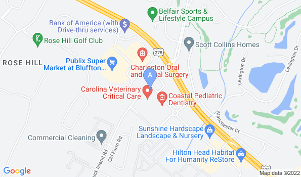 Street map of Coastal Veterinary Clinic