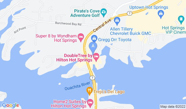 Street map of All Creatures Animal Hospital