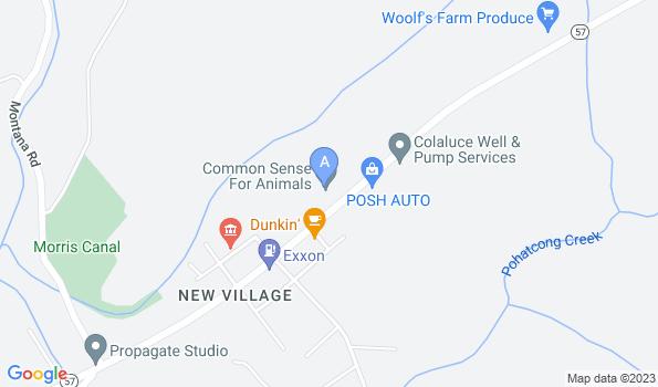 Street map of Animal Health Center