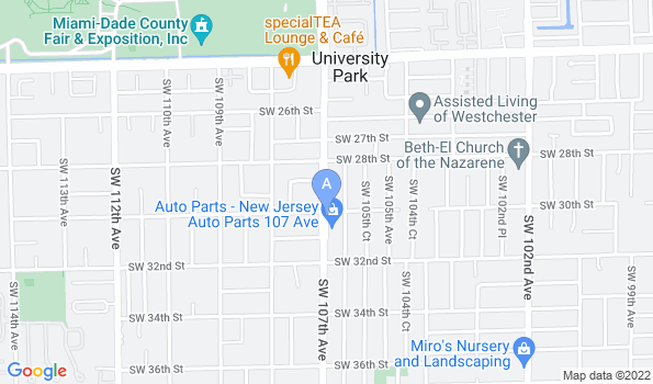 Street map of San Francisco Animal Clinic