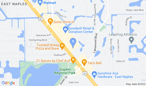 Street map of Affordable PetCare Hospital