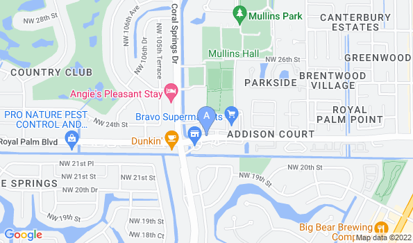 Street map of Royal Palm Veterinary Hospital
