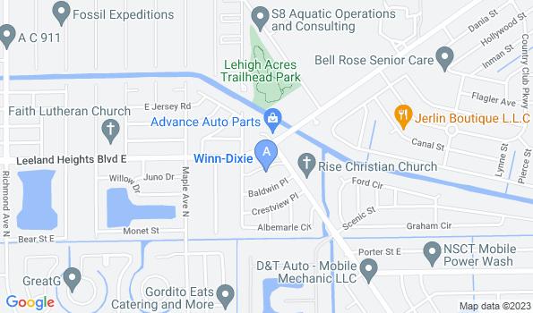 Street map of My Pet's Vet