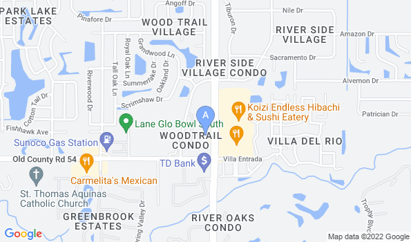 Street map of Animal Care Center of Pasco County