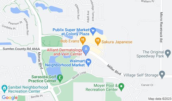 Street map of Colony Plaza Animal Hospital