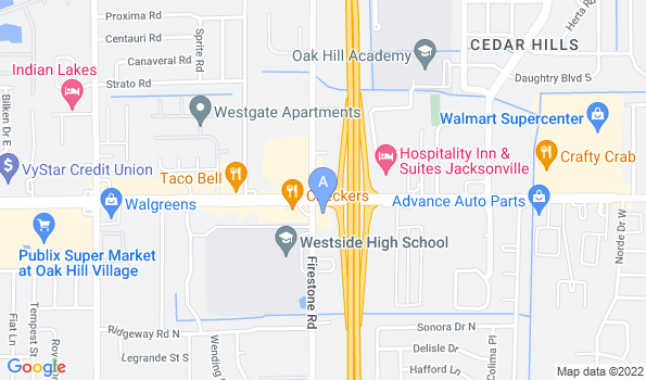 Street map of Beltway Animal Hospital