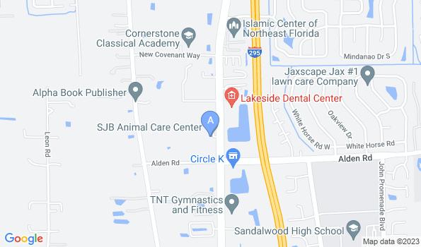 Street map of Animal Care Center