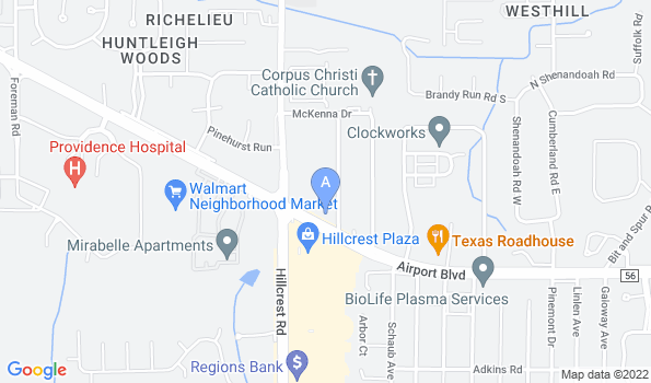 Street map of Animal Hospital of Mobile