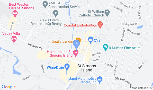 Street map of Our Cat Hospital