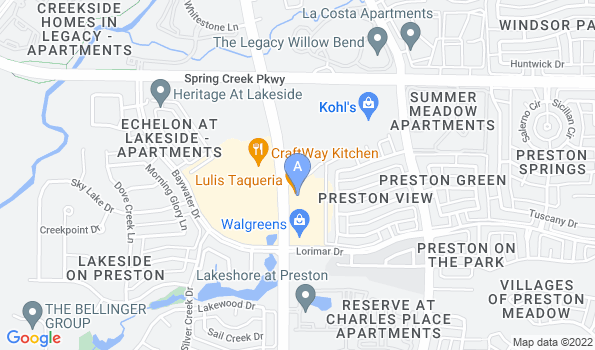Street map of Willow Bend Veterinary Clinic