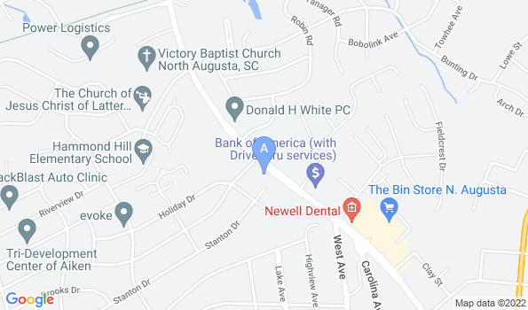 Street map of Hammond Hills Animal Hospital
