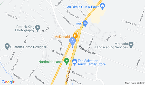 Street map of North Augusta Animal Hospital