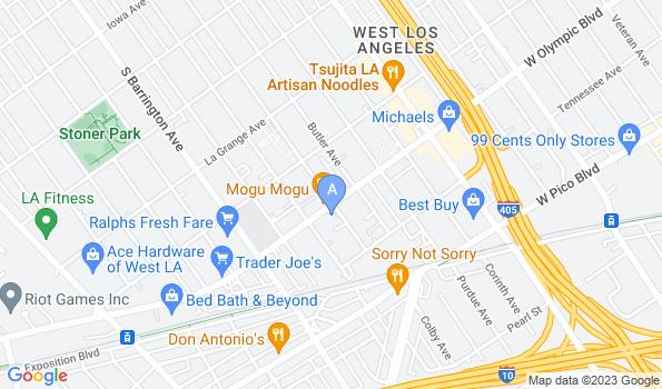Street map of Brent-Air Animal Hospital