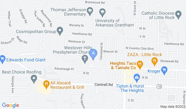 Street map of ALLPETS Animal Hospital