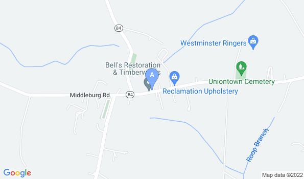Street map of Maryland Mobile Veterinary Clinic
