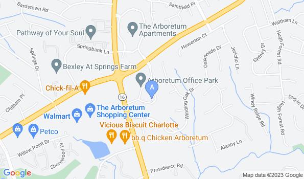 Street map of Spay Neuter Clinic of the Carolinas