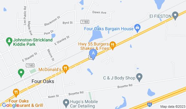 Street map of Quality Care Animal Hospital