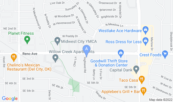 Street map of Reno Animal Hospital