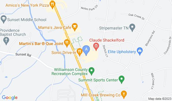 Street map of Mill Creek Animal Hospital
