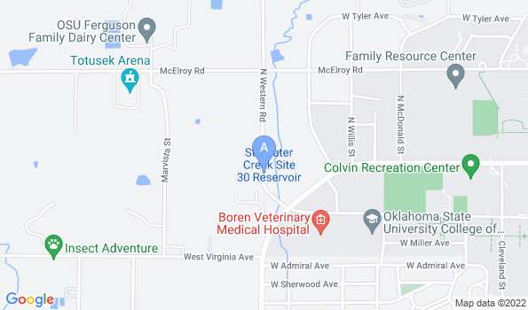 Street map of All Pets Veterinary Hospital