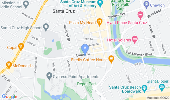 Street map of Westside Animal Hospital