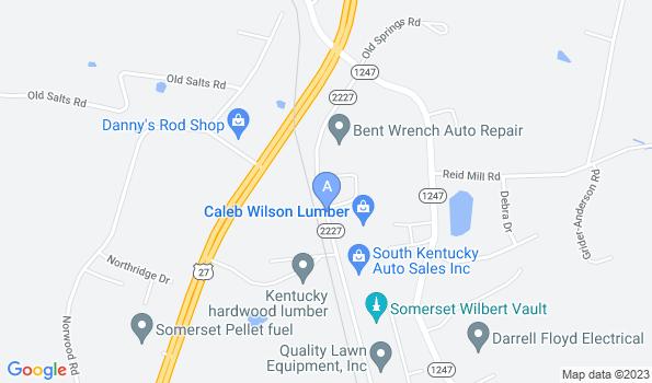 Street map of Somerset Animal Hospital