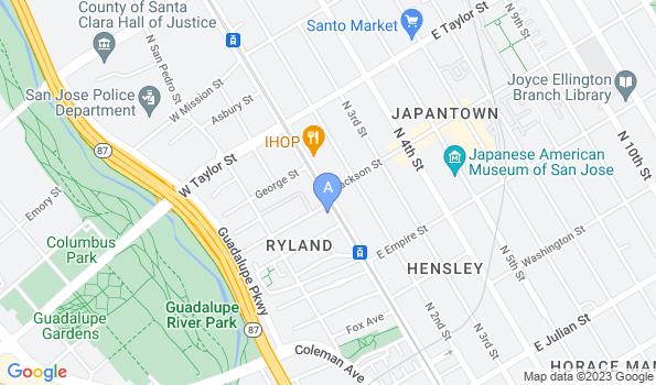 Street map of UNI Pet Clinic – San Jose