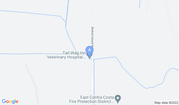 Street map of Tail Wag Inn Veterinary Hospital