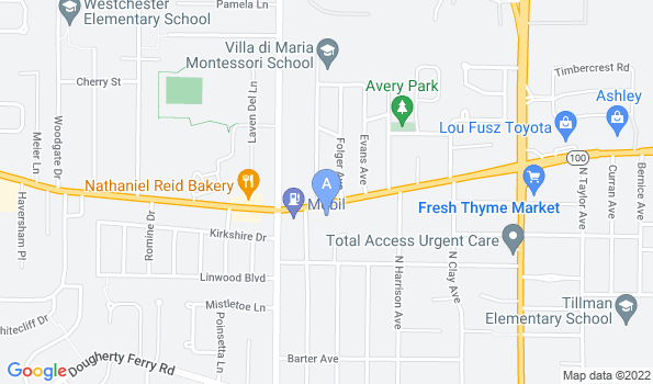 Street map of Kirkwood Animal Hospital