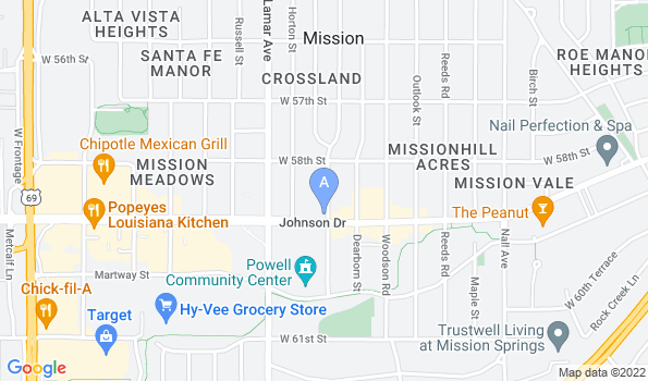 Street map of Dearborn Animal Clinic- Your Animal Hospital