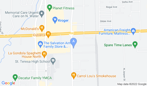 Street map of Northgate Pet Clinic
