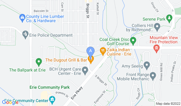 Street map of Foxtail Pines Veterinary Hospital