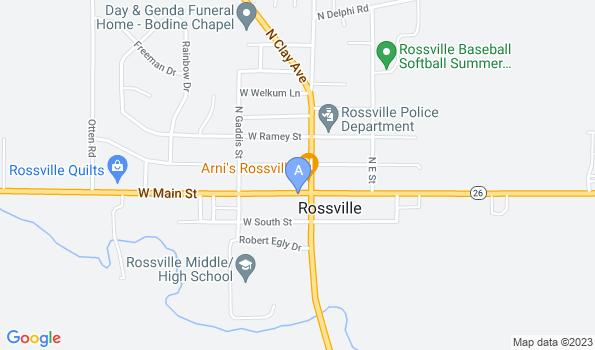 Street map of Wayside Veterinary Clinic