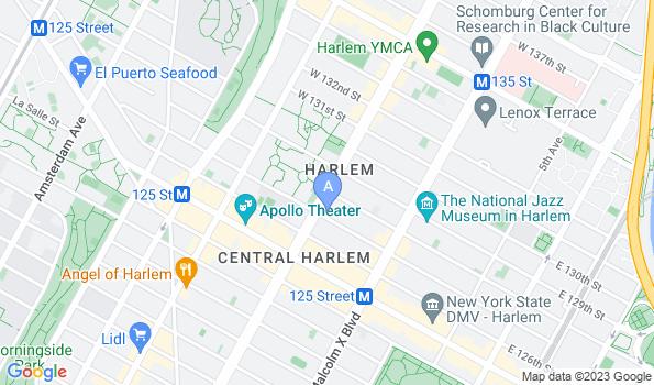 Street map of Heart of Harlem Veterinary Clinic